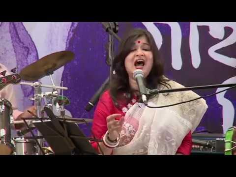 Sahana Bajpaie   Best 10 Songs 'গান গাইবার দিনে' Dhaka 
