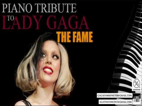 LADY GAGA - The Fame (Official PIANO TRIBUTE)