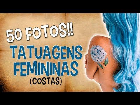 TATUAGENS FEMININAS (COSTAS) «50 Fotos»