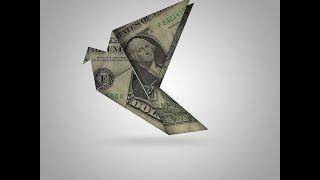 Photoshop Graphic Design Tutorial How to Create Origami Birds using Dollar Bills in Photoshop CS6