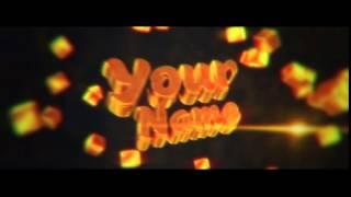 FREE  Gold Sync INTRO TEMPLATE #12 (Готовое 3D интро,скачать интро без текста)