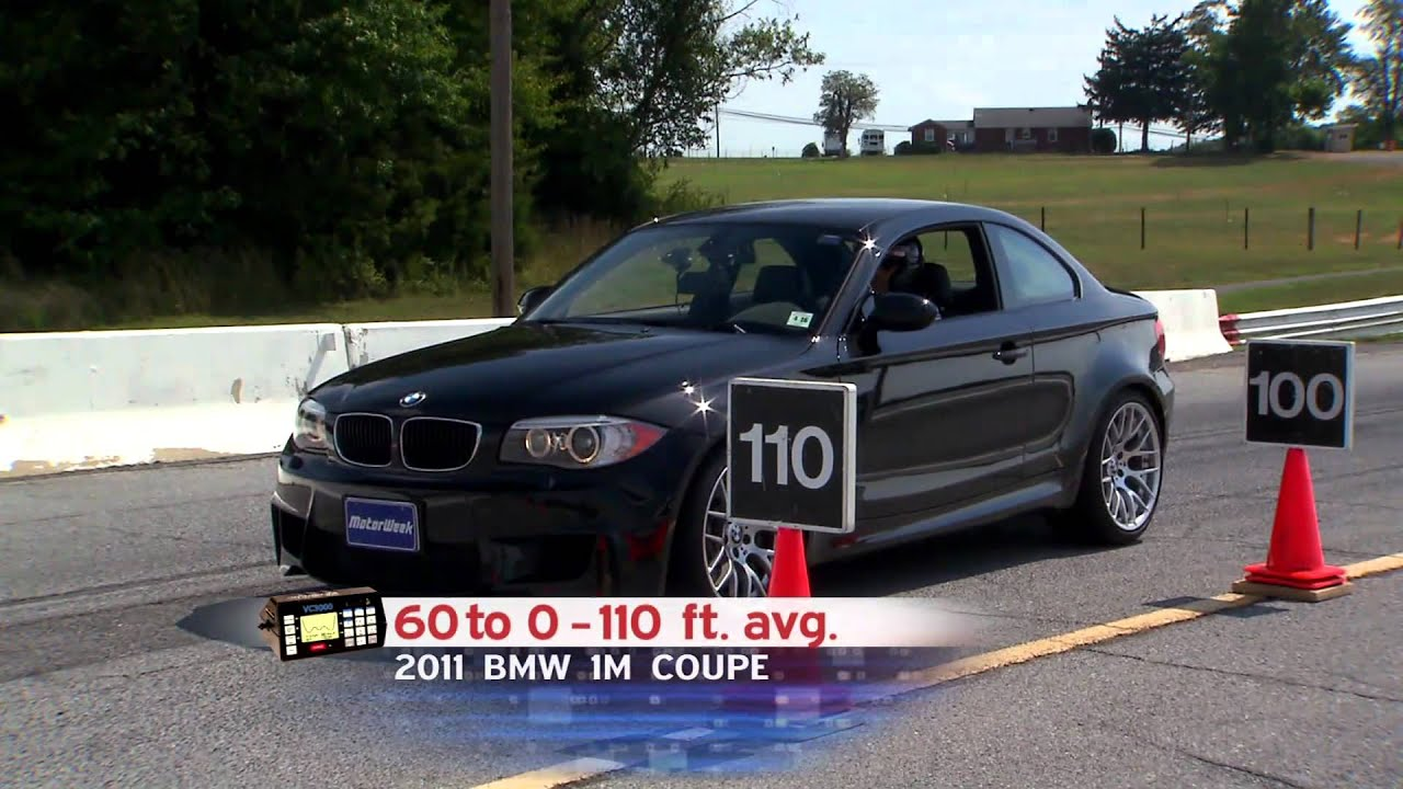 Road Test 2011 BMW 1M Coupe  YouTube