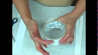 видео Круглая маленькая коробочка – бонбоньерки своими руками