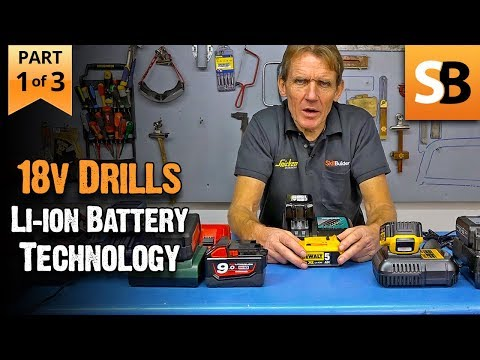 Li-ion Batteries - What Drill Users Need to Know