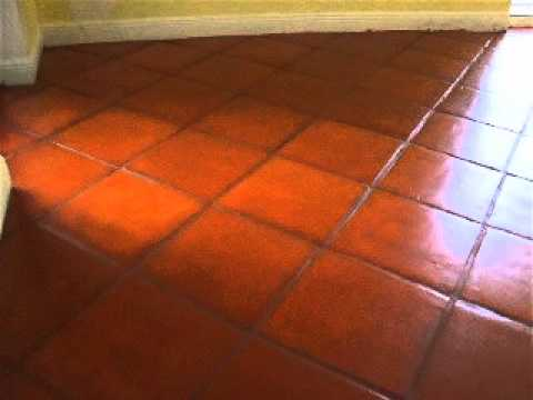 Staining & Color Matching Terra Cotta Tile - YouTube