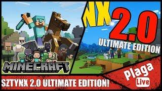 SZTYNX 2.0 ULTIMATE EDITION! (Minecraft Sztynx #76) | PlagaLive