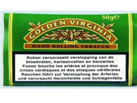 Golden Virginia Yeşil Green Ithal Paket Tütün Wwwtutuncesitleri