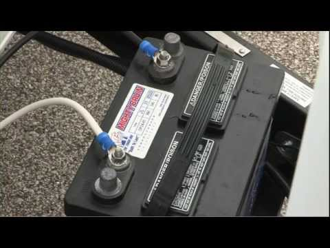 understanding keystone rv electrical systems youtube battery power for pop up camper at Rv Battery Wiring Color
