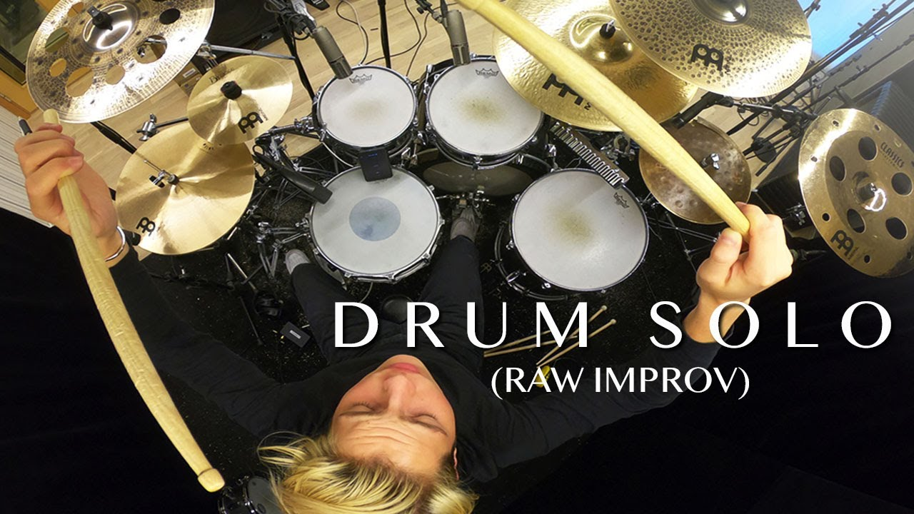 Gabriel Gomér Raw Improv in the Studio (Drum Solo)