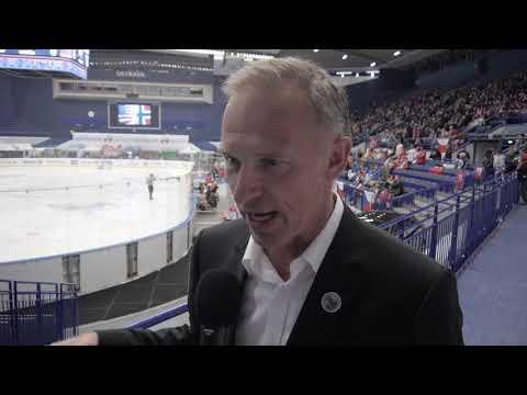 Dominik Hasek Interview  | Ostrava 2019