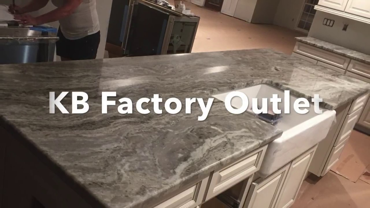 Fantasy Brown Granite Kitchen Install Kb Factory Outlet Youtube