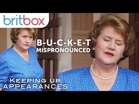 Best of Hyacinth Bucket's Name Mispronunciation | Keeping Up Appearances