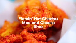 From the Shipt Kitchen: Flamin' Hot Cheetos Mac and Cheese Bites