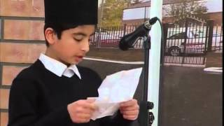 Bustan-e-Waqfe Nau, 31 Jan 2009, Educational class with Hadhrat Mirza Masroor Ahmad(aba)