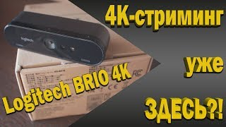 4К веб-камера? Logitech 4K Ultra HD Webcam BRIO