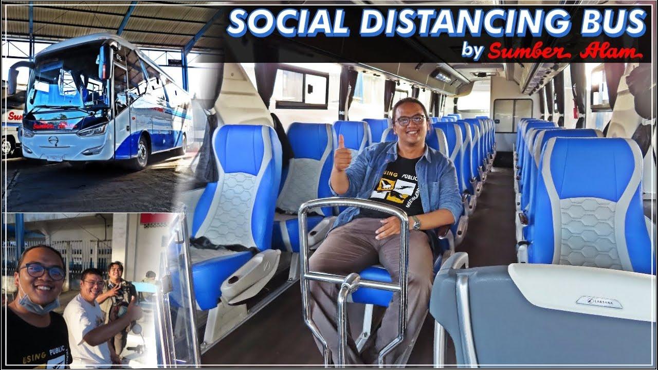 SOCIAL DISTANCING BUS SUMBER ALAM | Laksana Legacy SR2
