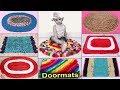 10 Very Easy... DIY Doormats Making at Home || DIY UseFull Things