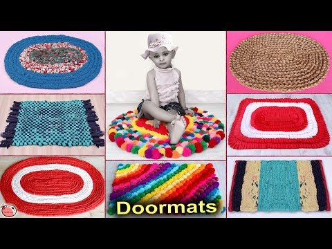 10 Very Easy... DIY Doormats Making at Home || DIY UseFull Things