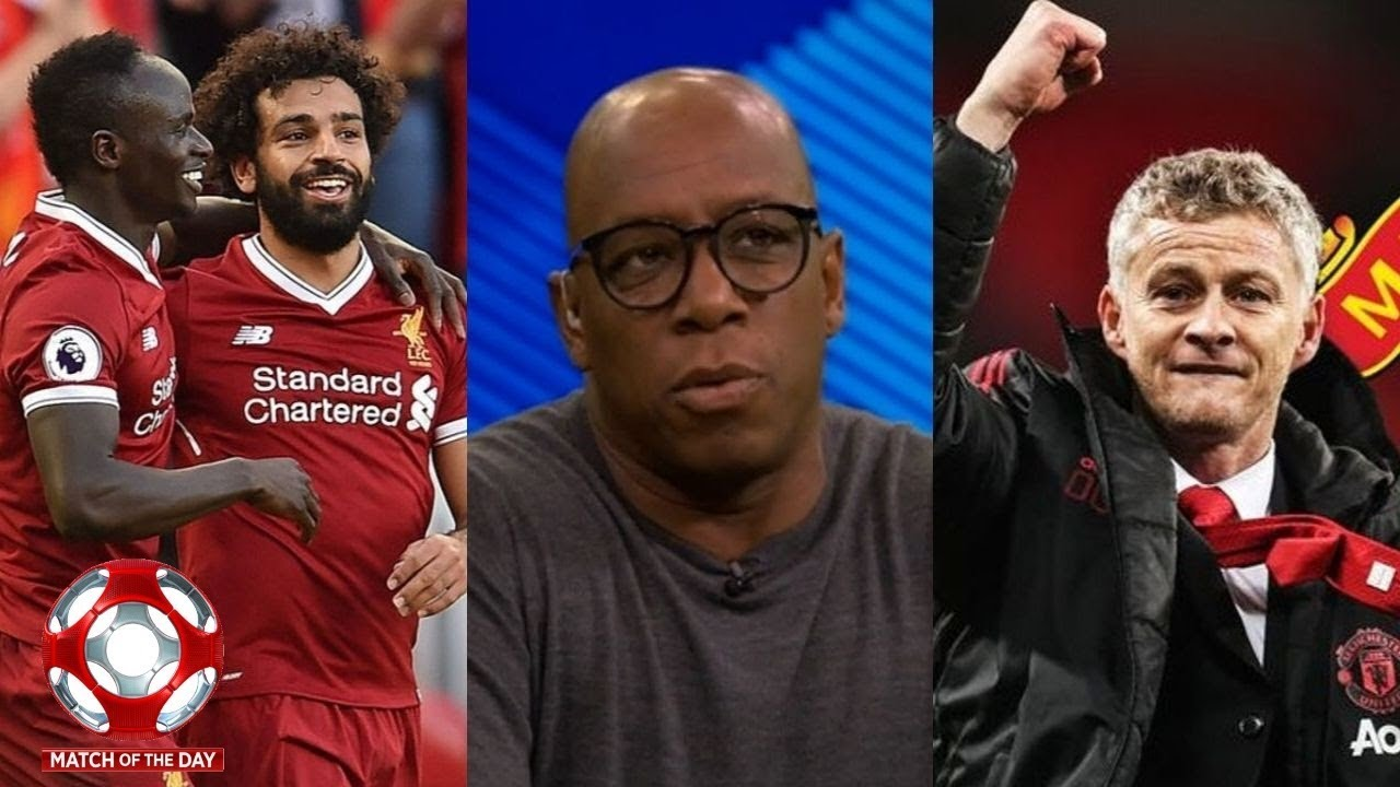 MOTD 1 Man United 1-0 Leicester & Liverpool 3-1 Newcastle; Ian Wright & Shearer Post Match A