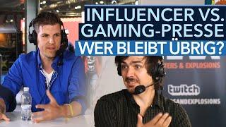 Influencer vs. Gaming-Journalismus - Wer bleibt am Ende übrig?