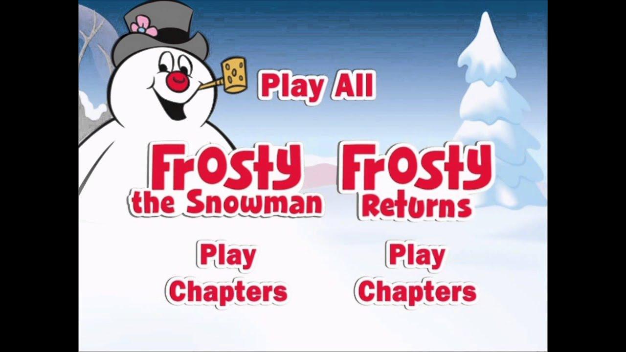 Frosty The Snowman/Frosty Returns - UK DVD Menu - YouTube