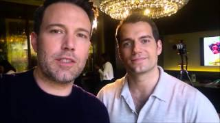 Ben Affleck and Henry Cavill Moments