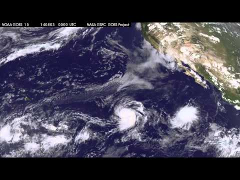 Satellite Movie Shows Three Tropical Cyclones in Eastern Pacific