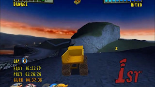 Monster Trux Extreme Offroad PC Gameplay HD