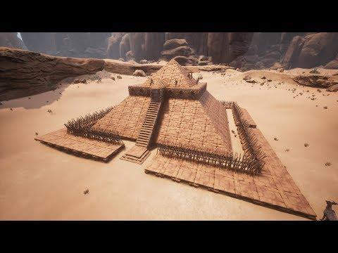 Conan Exiles - Anti Purge Base Builds