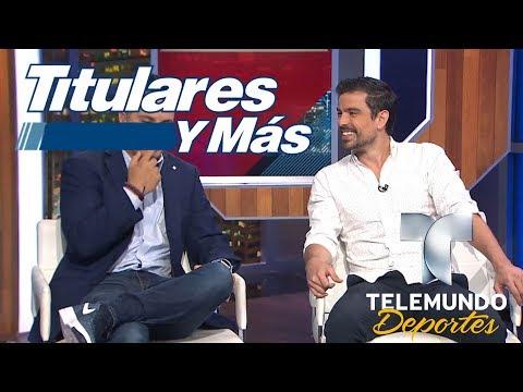 Jorge Luis Moreno, 'Chacorta' Casillas visitó TYM  Titulares y Más  Telemundo Deportes