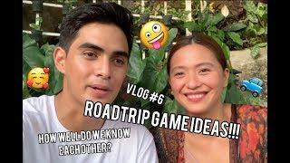 Car Game Ideas for Couples/Barkadas | Roadtrip Talkshow VLOG | Juanchoyce VLOG 06