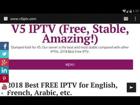 V5 LIVE IS A FREE IPTV SERVICE FOR ANDROID!!! BEST FREE IPTV FOR 2019  Exp:2020