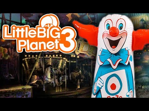 THE CLOWN IS BACK!   Little Big Planet 3 Multiplayer (133)