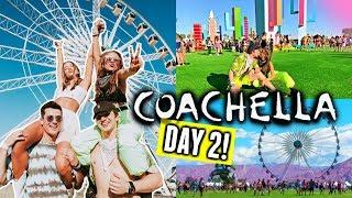 COACHELLA 2019 DAY 2🌵🌞 | Ferris Wheel, Friends, Billie & Matching Outfits!