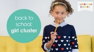 Back to School in 10 Items of Clothing: Girl Wardrobe Cluster Thumbnail