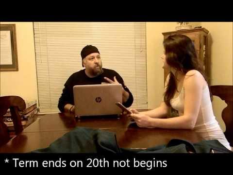 20th Amendment government video