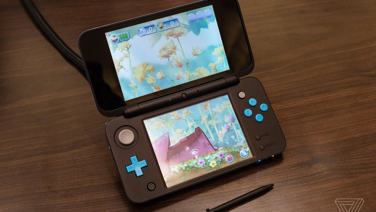 new nintendo 2ds xl first look youtube