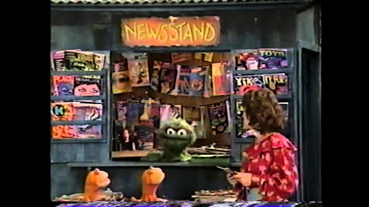 Sesame Street - A Day at Oscar's Newstand by Sesame Maniac
