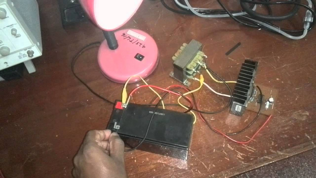Homemade Ups Circuit Diagram How To Make A Simple And Powerfull 12v 230v Inverter Using Two Mosfets Youtube