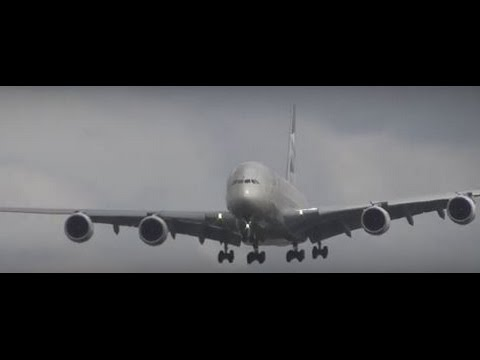 London Heathrow Airport Epic plane spotting 15Aug2015  vid11 132pm