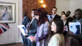 The UK Citizenship Ceremony - Southwark Registery Office June 2012 - Elgar Enigma Nimrod