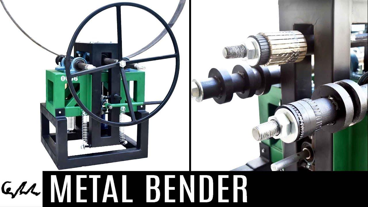 Homemade Metal Bender Youtube