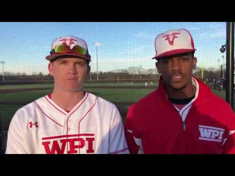 WPI Baseball Post-Game Interview - Mike Duclos and Keith Scales