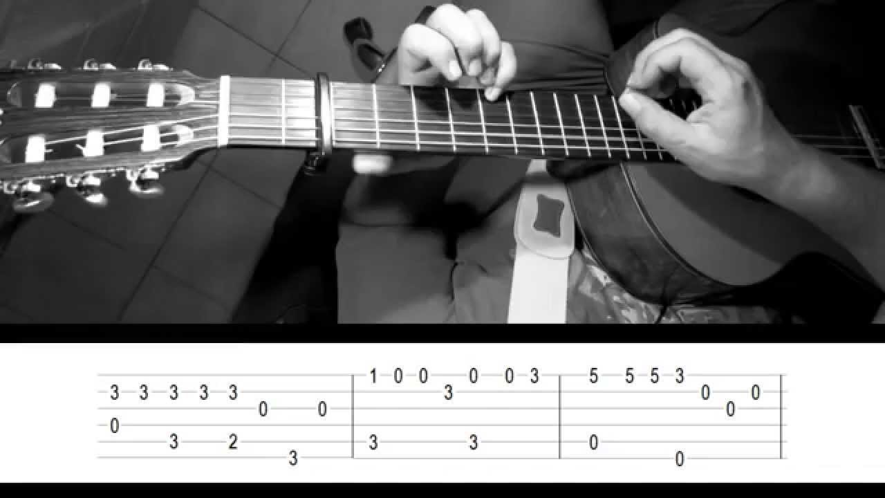 What A Wonderful World Fingerstyle Guitar With Tab Youtube