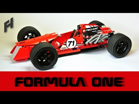 lego technic formula one updated version youtube. Black Bedroom Furniture Sets. Home Design Ideas