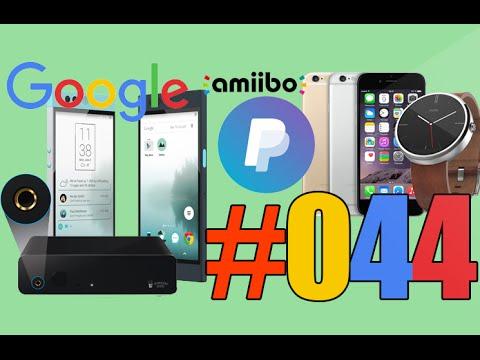 #44: Google et son logo, Nintendo et amiibo, Popcorn Hour A-500 Pro, SmartHalo, UberX,...