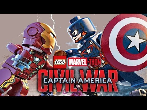Captain America: Civil War - LEGO Marvel-thon!