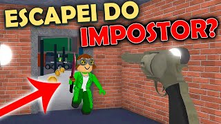 I WAS CORNERED BY THE IMPOSTOR? -MURDER MYSTERY at ROBLOX