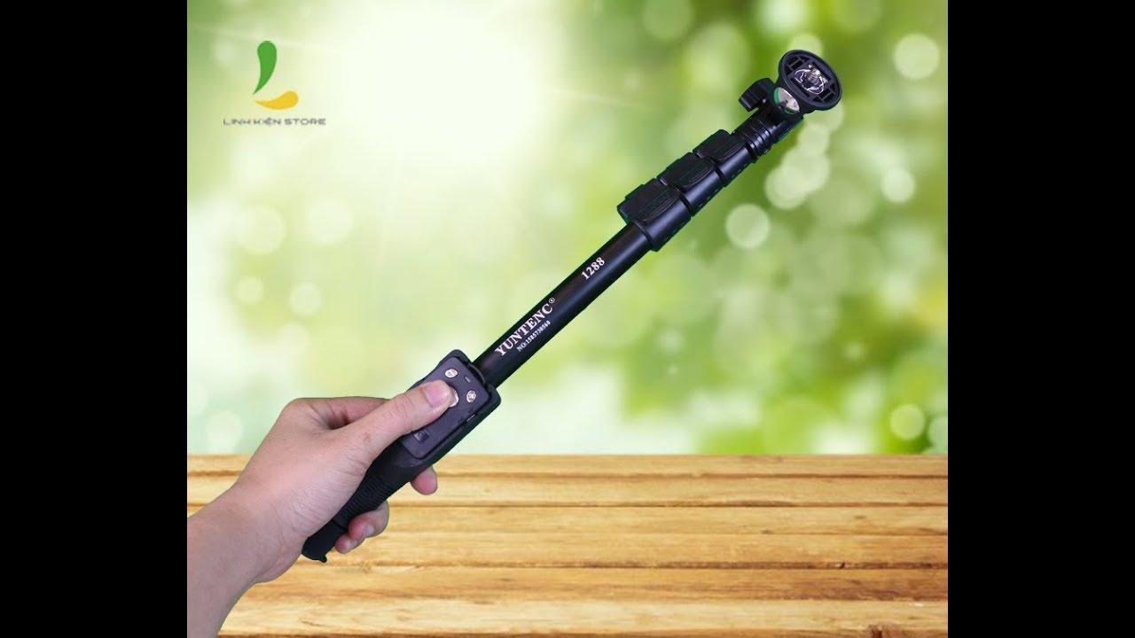 Hướng dẫn sử dụng gậy Yunteng 1288 cho điện thoại và Actioncam