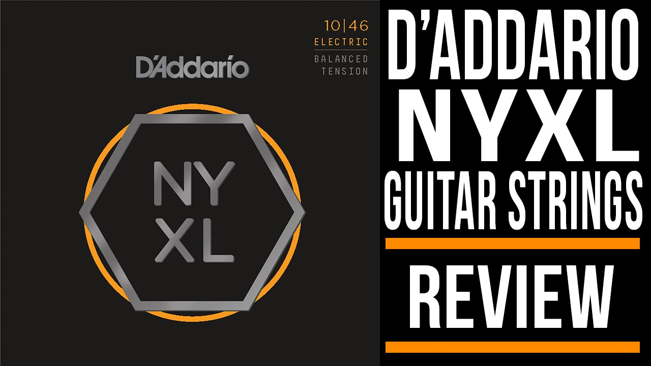 d addario ny xl guitar strings review youtube. Black Bedroom Furniture Sets. Home Design Ideas